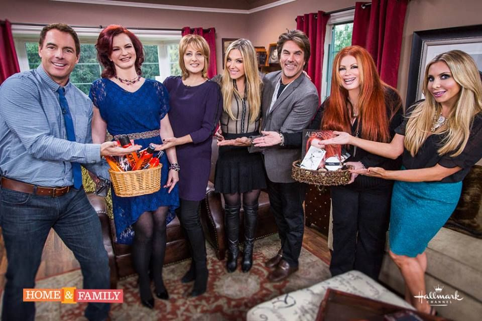 Alexis Vogel on Hallmark Channel's Home and Family 1.6.14