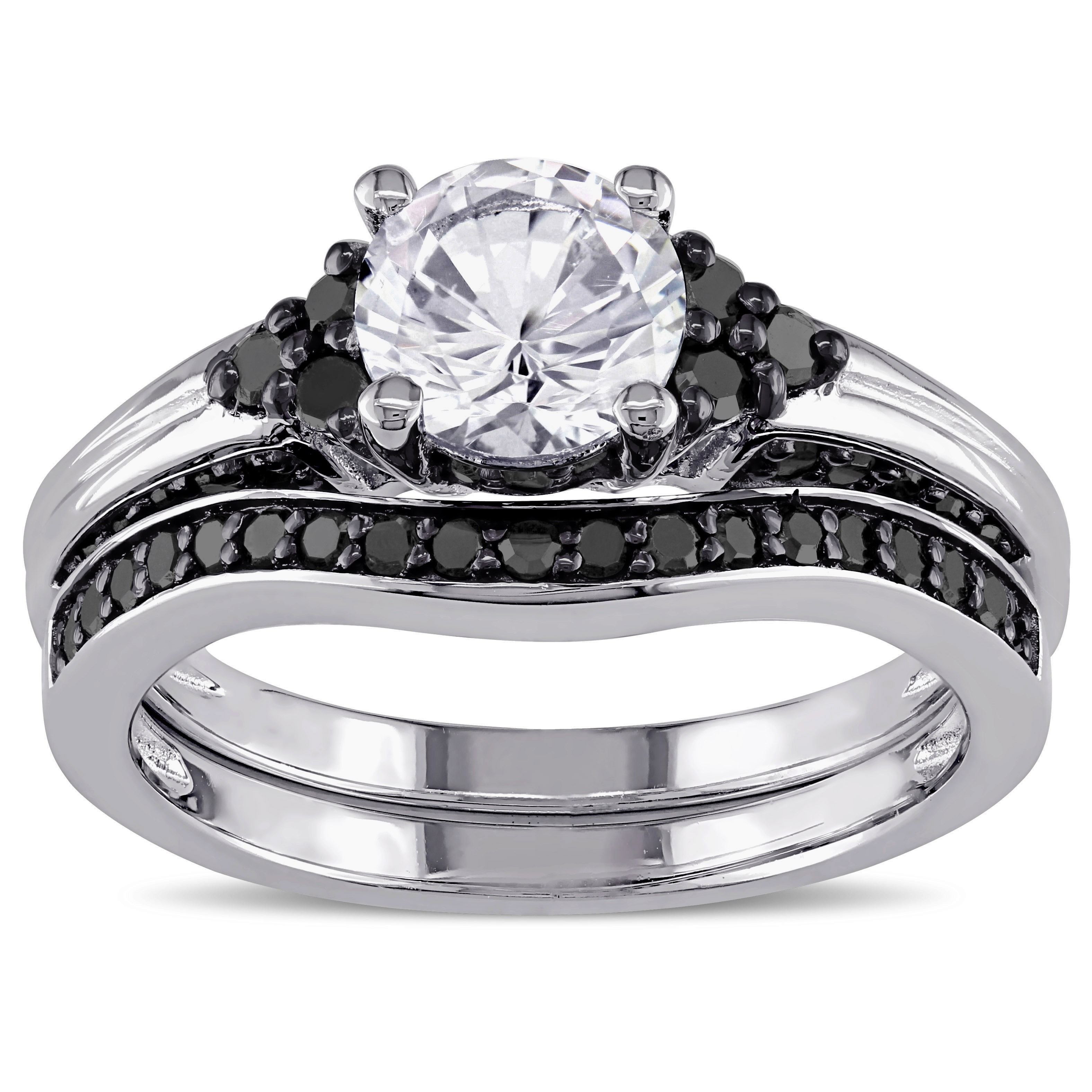 44+ White sapphire bridal rings ideas in 2021