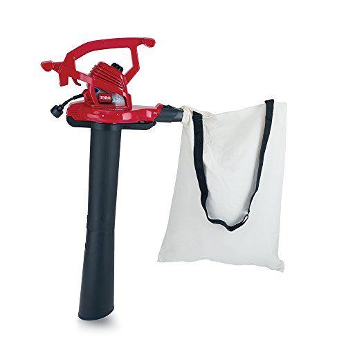 Toro 51621 Ultraplus Leaf Blower Vacuum Variable Speed Up To 250 Mph With Metal Impeller 12 Amp Vacuums Simple Storage Mulching