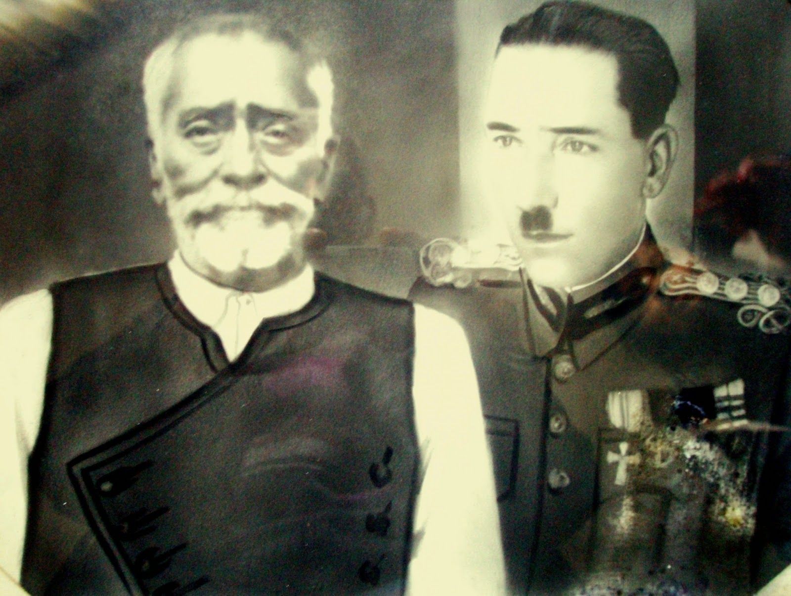 MOXOΣ...Ο Μανώλης Γιακουμάκης με τον πατέρα του