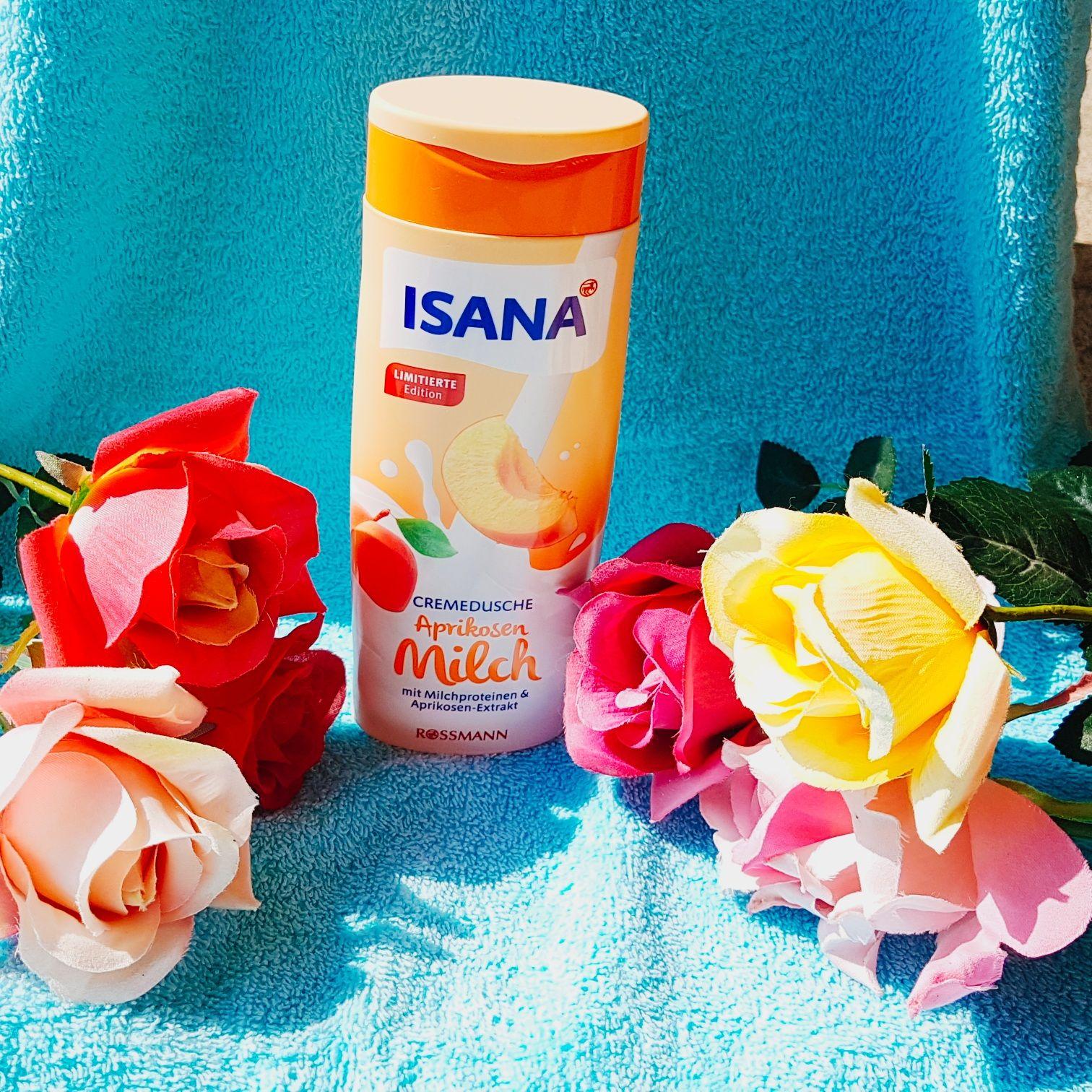 Isana Cremedusche Aprikosenmilch mit Milchproteinen & Aprikosen- Extrakt