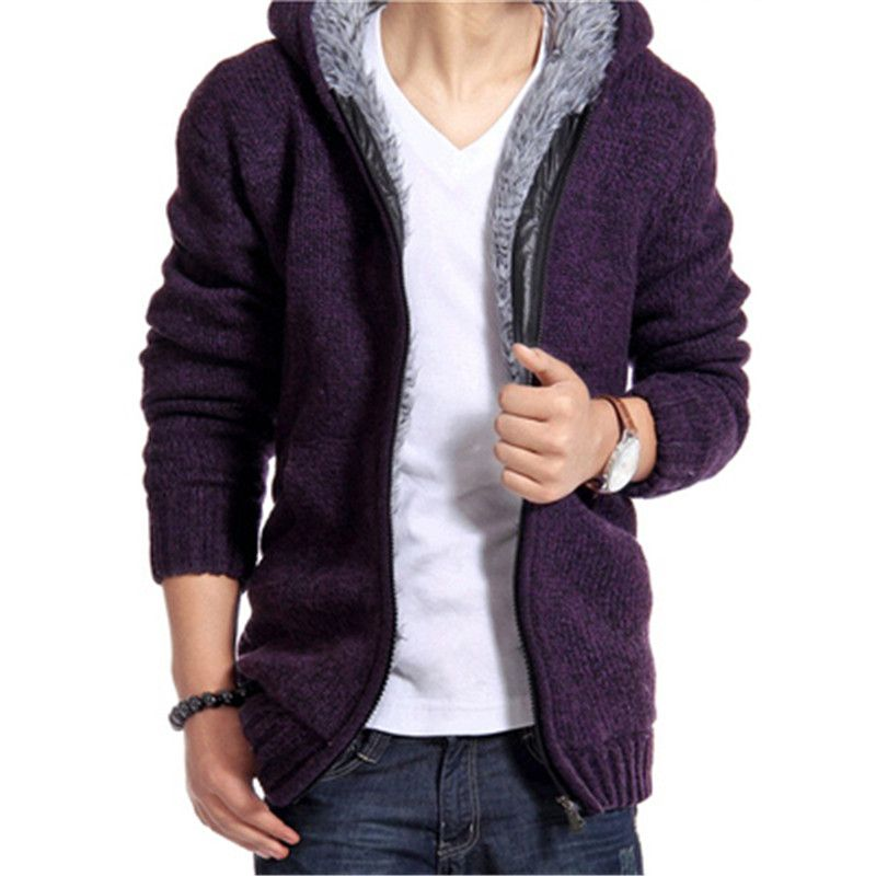 Sweater Vest Men 2017 Male Brand Casual Slim Sweater Men Hooded ...