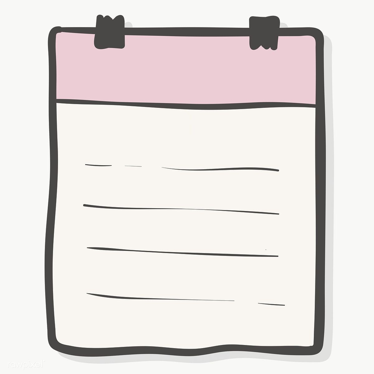 Blank Lined Paper Note With Binder Paper Clips Transparent Png Free Image By Rawpixel Com Chayanit Note Paper Binder Paper Paper Background Texture