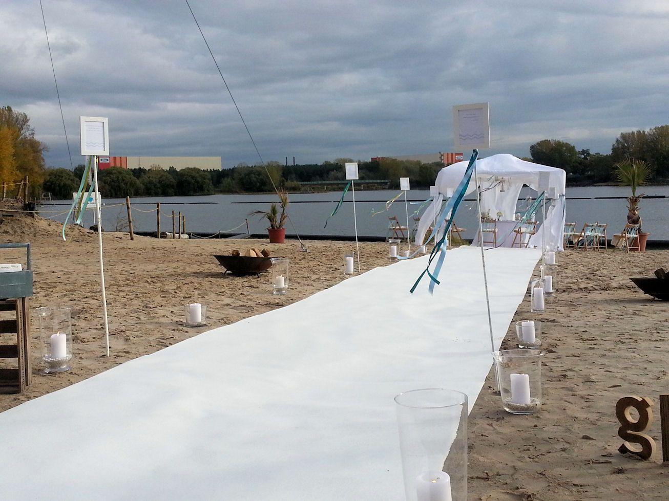 Freie Trauung im Seepavillon in Köln dargestellt durch das Event