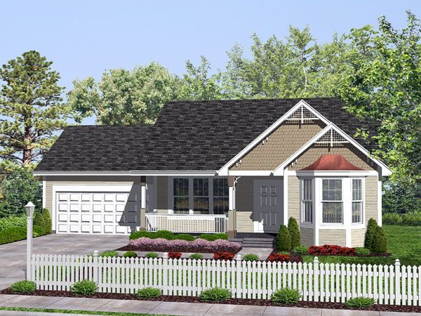 Plan 73155HS Curb appeal Bungalow and Exterior