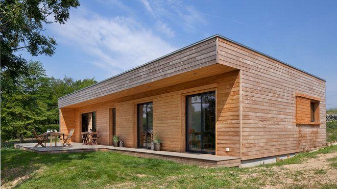 maisons bois un concept innovant d architecte constructeur prefab architecture and house. Black Bedroom Furniture Sets. Home Design Ideas