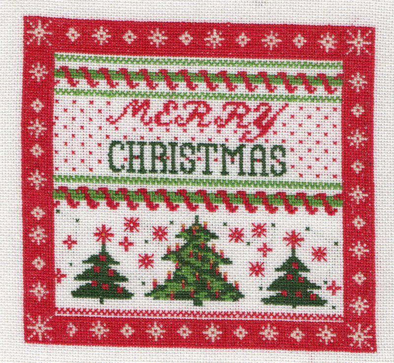 Noël d'après une serviette en papier