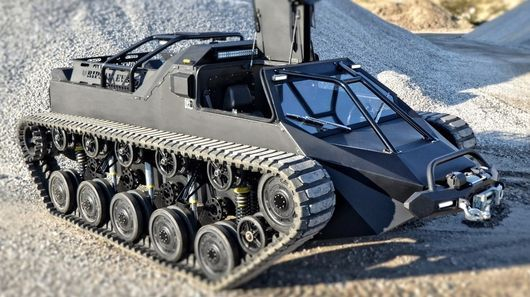 The Ripsaw Ev2 Could Be Described As Mad Max And Batman S Love