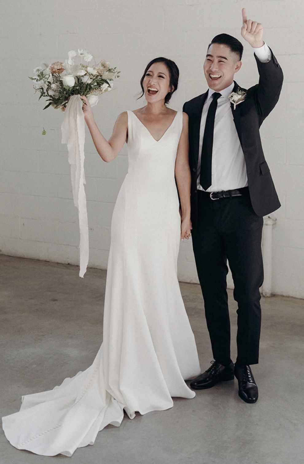 Introducing the Finley gown by Jenny Yoo! This wedding
