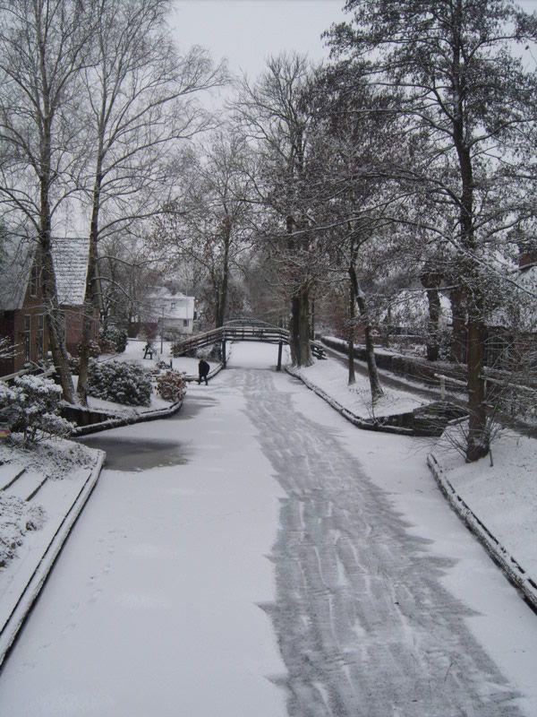 Giethoorn Overijssel Pictures Of The Netherlands Winter