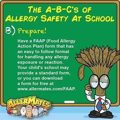 FoodAllergies #AllergyAwareness #AllergySafety #KeepKidsSafe