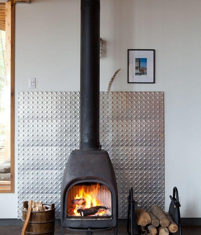Corner Wood Burning Stove Functional And Interior: Modern Wood Burning Stoves Corner