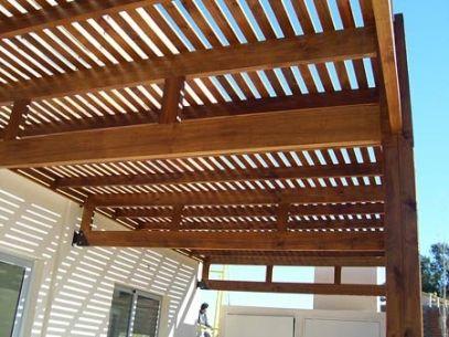Resultado de imagen para pergola de madera galerías-terrazas