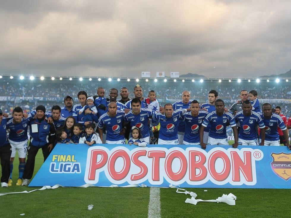 Plantel Campeon De Millonarios 2012 2 Bogota 16 Dic