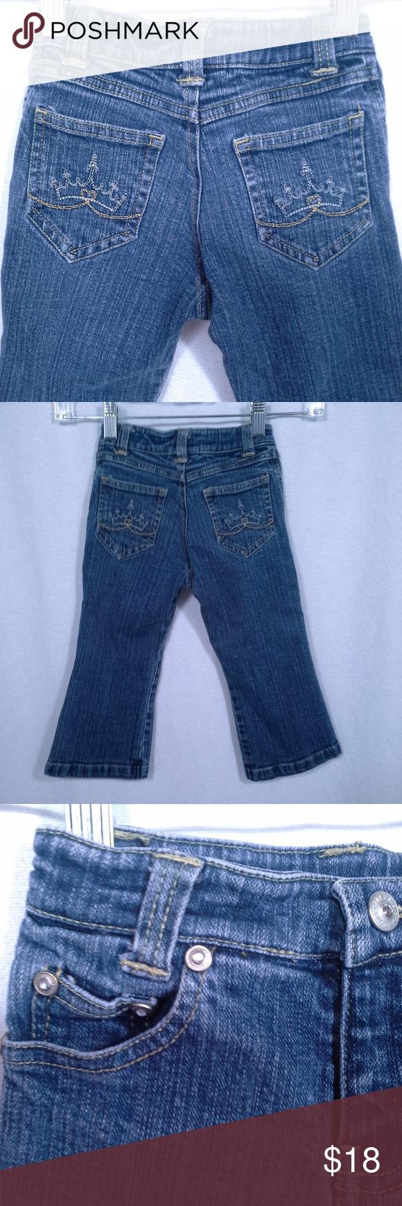 Disney Store jeans Size 3 Princess crown bling Clothes
