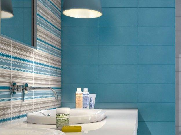 piastrelle marazzi per il tuo bagno: i prezzi del listino [foto ... - Blu Piastrelle Del Bagno Mosaico