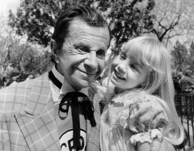 Very Rare Photo Of Heather O Rourke And Morey Amsterdam In