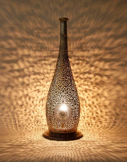 Floor lamp moroccan bedroom ideas pinterest floor for Table lamp repairs melbourne