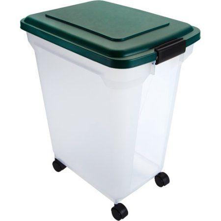 Remington Airtight Pet Food Container, 55 Qt, Green