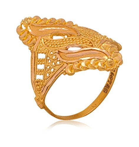 Senco Gold Aura Collection 22k Yellow Gold Ring Jewellery In 2019