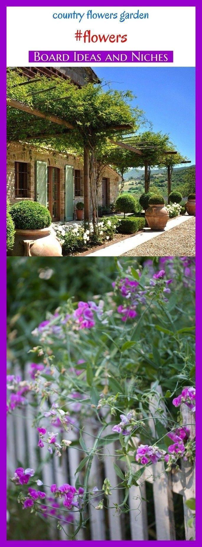 Photo of Country flower gardens #flower #seo #boardideas #garden. Flower, Garden Ideas, Blu …