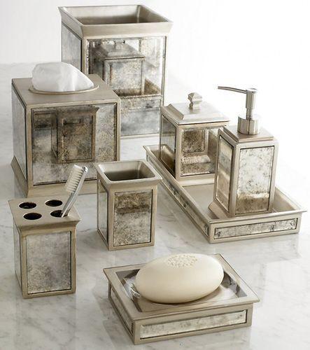 Palazzo Vintage Mirror Bathroom Accessories Click To Shop One Of
