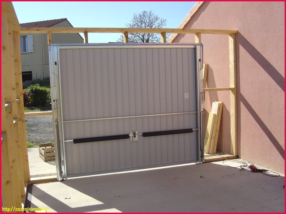 Prix Construction Garage 20m2 375978 Belle Newsindoco Garage Bois Toit Plat Garage Toit Plat Garage Bois
