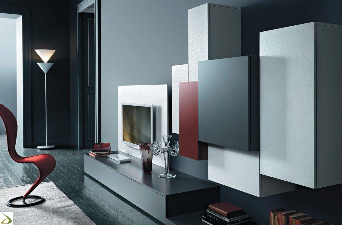 Risultati immagini per parete soggiorno moderna | obyvacie izby ...