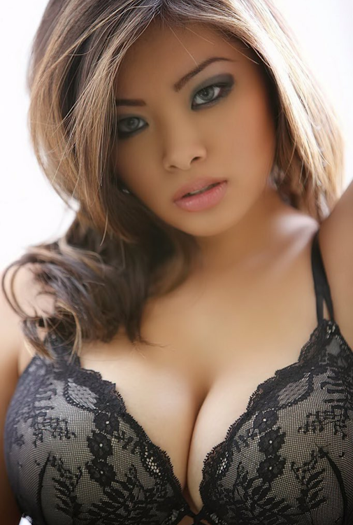 Asian bra and tit