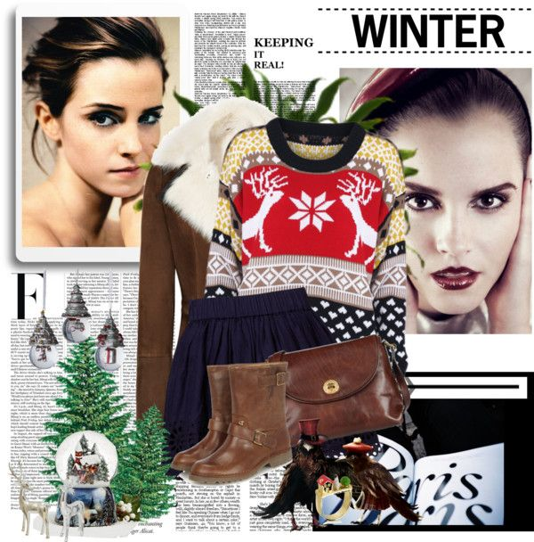 """Winter ♥"" by lalalalottie ❤ liked on Polyvore"
