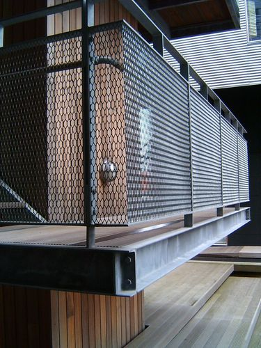 Best Expanded Metal Balcony Railings Security Balcony Railing Design Stair Railing Design 400 x 300