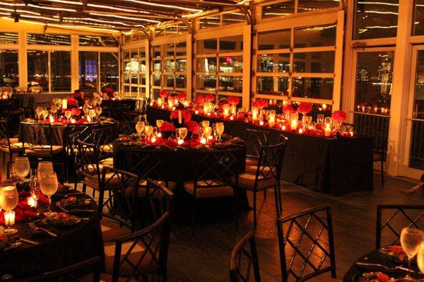 Chelsea Piers Sunset Terrace New York Wedding Venue