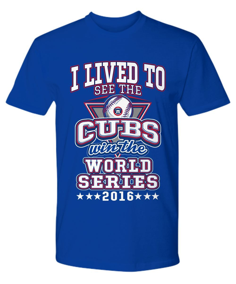 Chicago Cubs Premium Tee. Limited Edition.