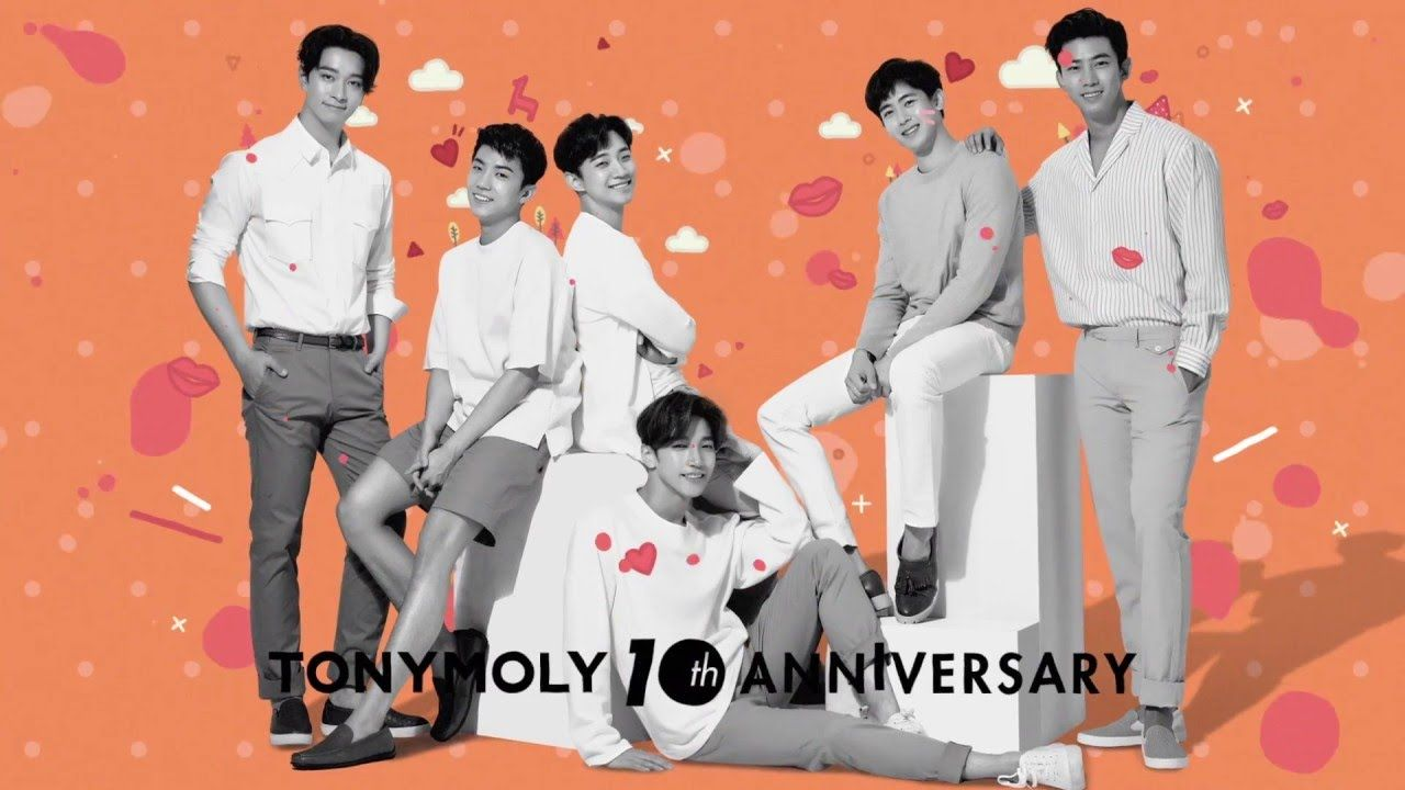 [WITTY BEAUTY TONYMOLY] 2PM X GET IT TINT HD