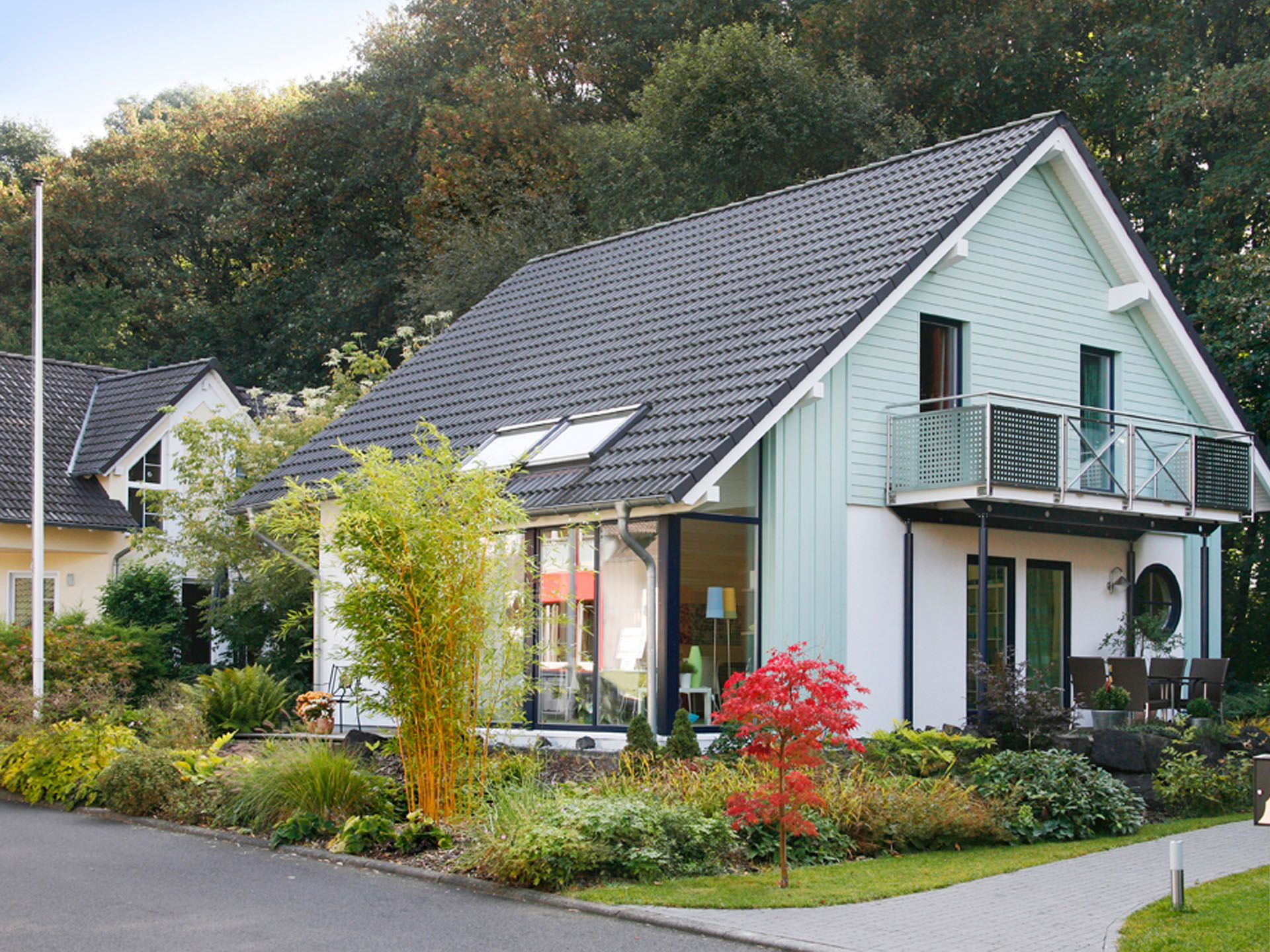 Musterhaus Creatione UNO M • Holzhaus von Partner-Haus ...