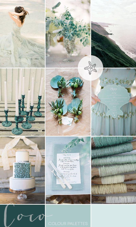 05623fb7c8 Sea Glass Coastal Wedding Inspiration | Style Focused Wedding Venue  Directory | Coco Wedding Venues