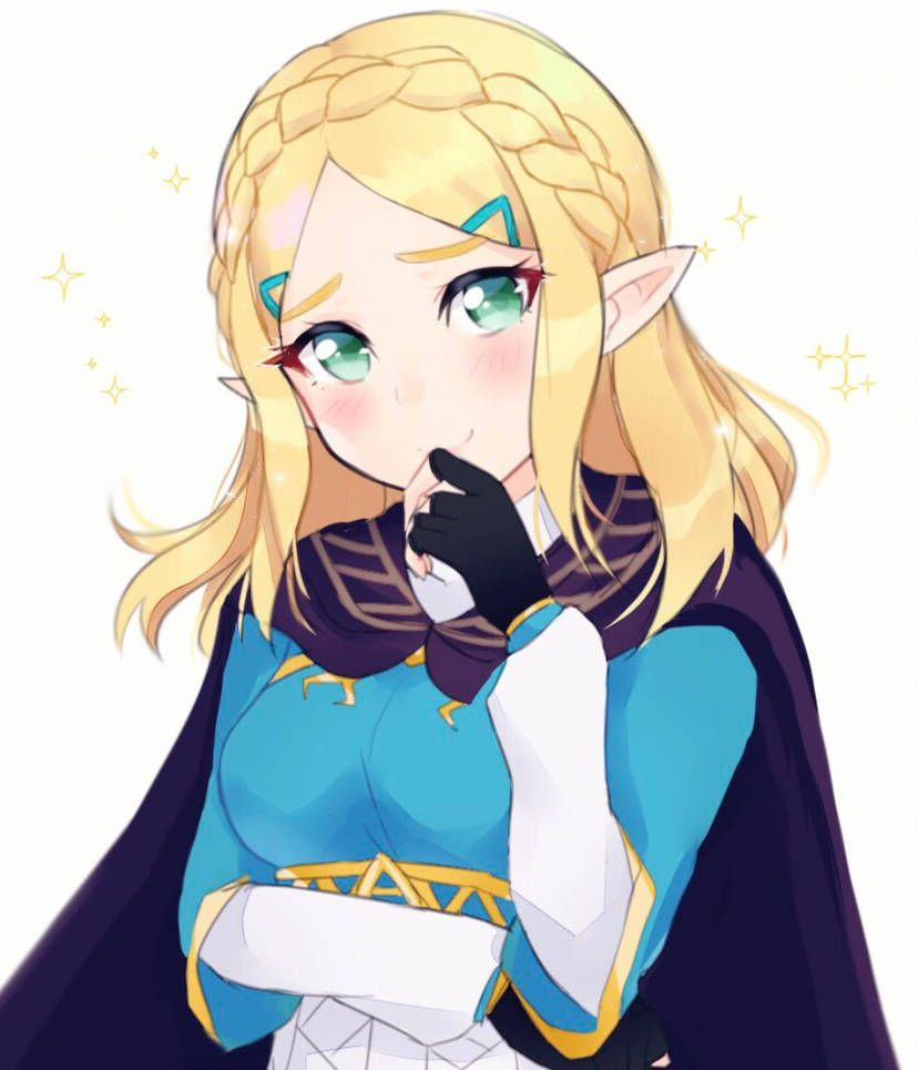 Short Haired Zelda From Breath Of The Wild By Sweetie Cyanide Legend Of Zelda Midna Zelda Art Legend Of Zelda Breath