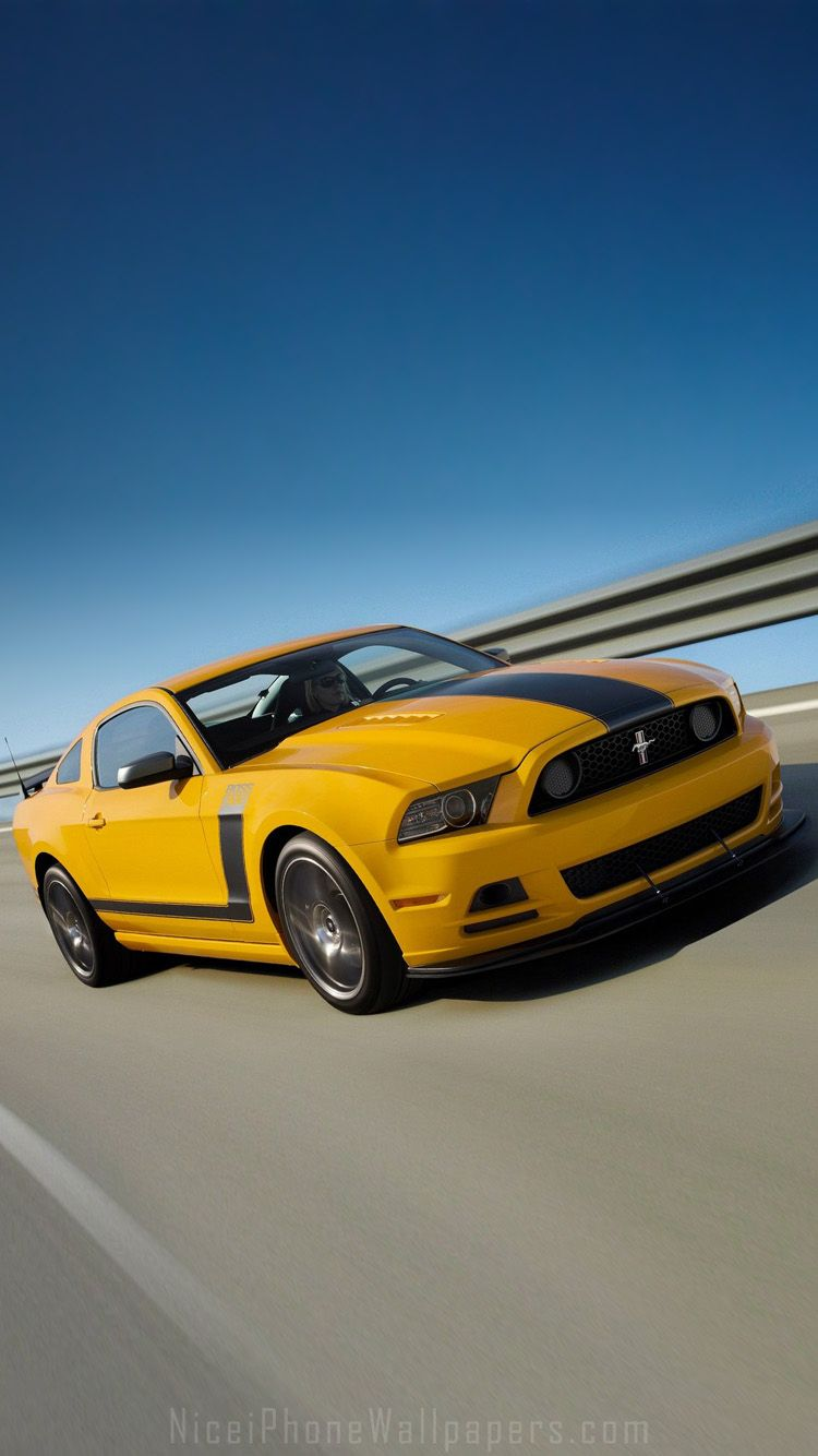 Ford Mustang 2013 iPhone 6/6 plus wallpaper