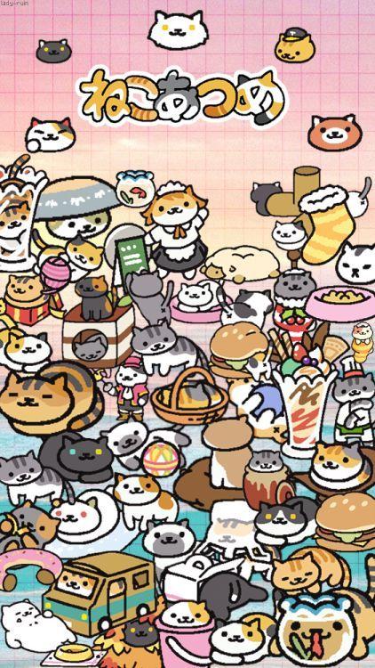 Neko Atsume! | Ý tưởng hình xăm, Động vật, Mèo