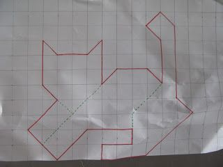 My Quilt Diary: tessellating cats tutorial. I don't generally do ... : tessellation cat quilt pattern - Adamdwight.com
