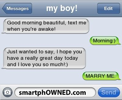 texting her a simple good morning beautiful will make her ...