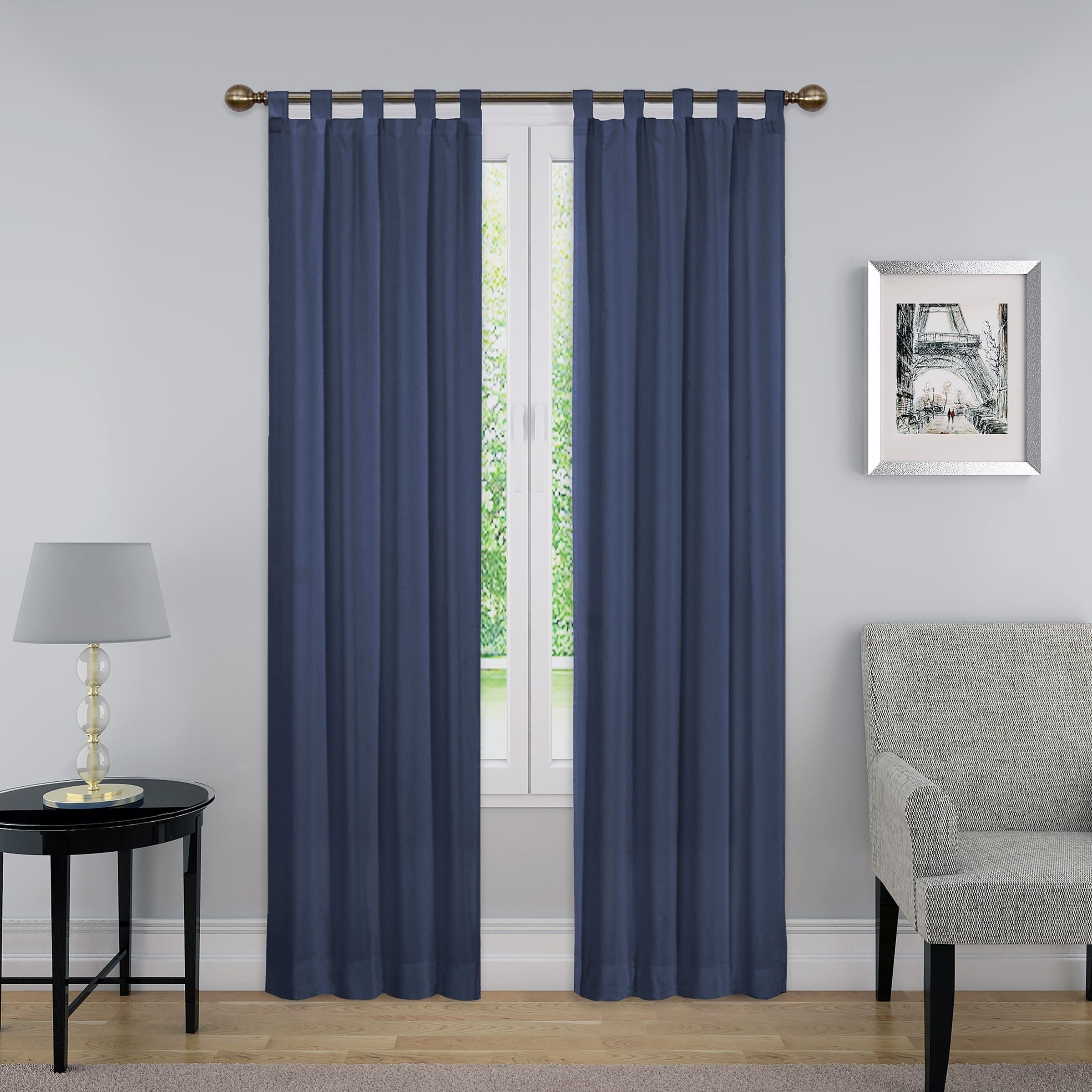 Porch Den Cloverleaf Curtain Panel Pair Panel Curtains