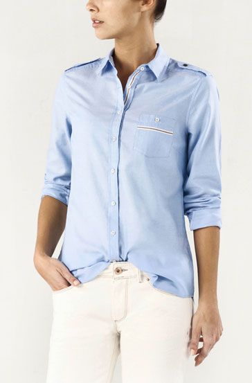 Faded Sport Shirt with Pocket