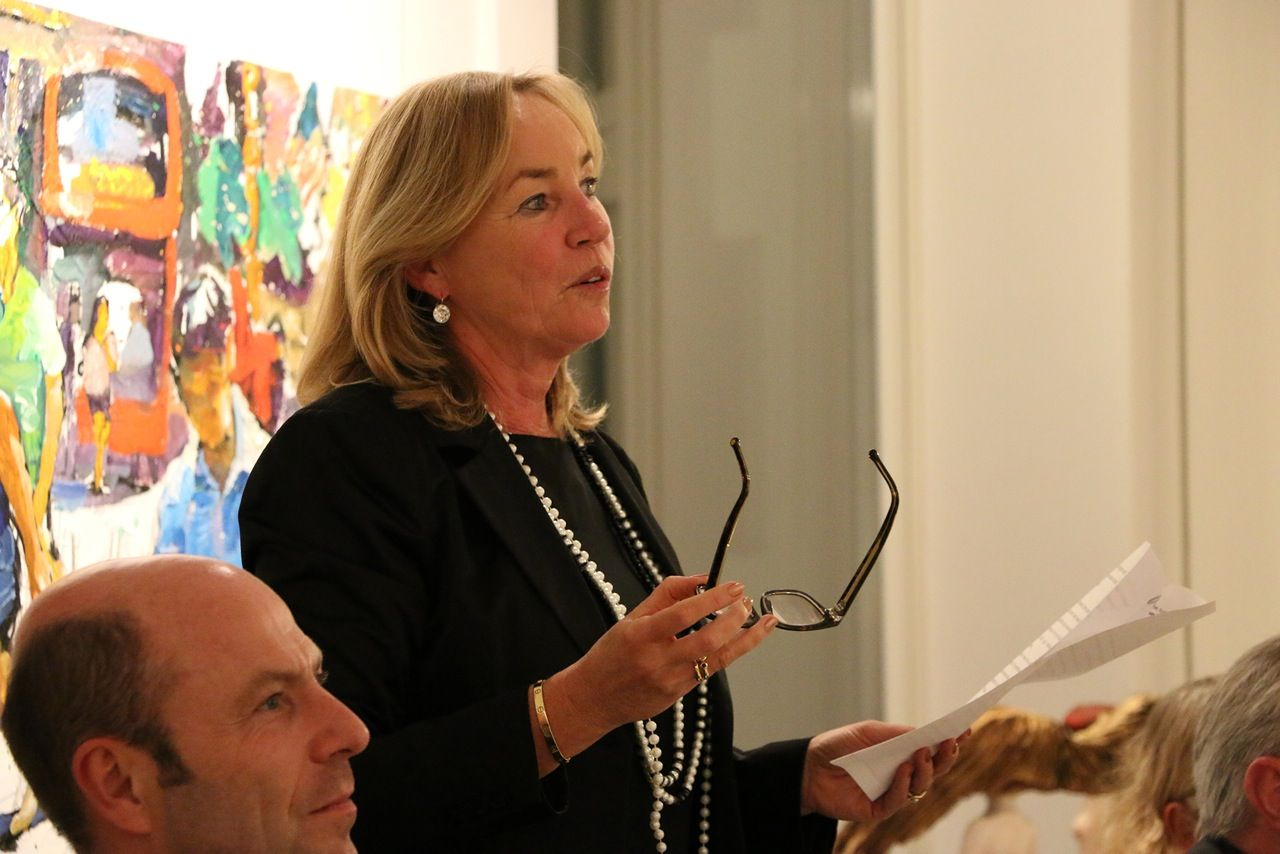 Gallery Talk By Director Barbara Von Stechow Vons Barbara New Work