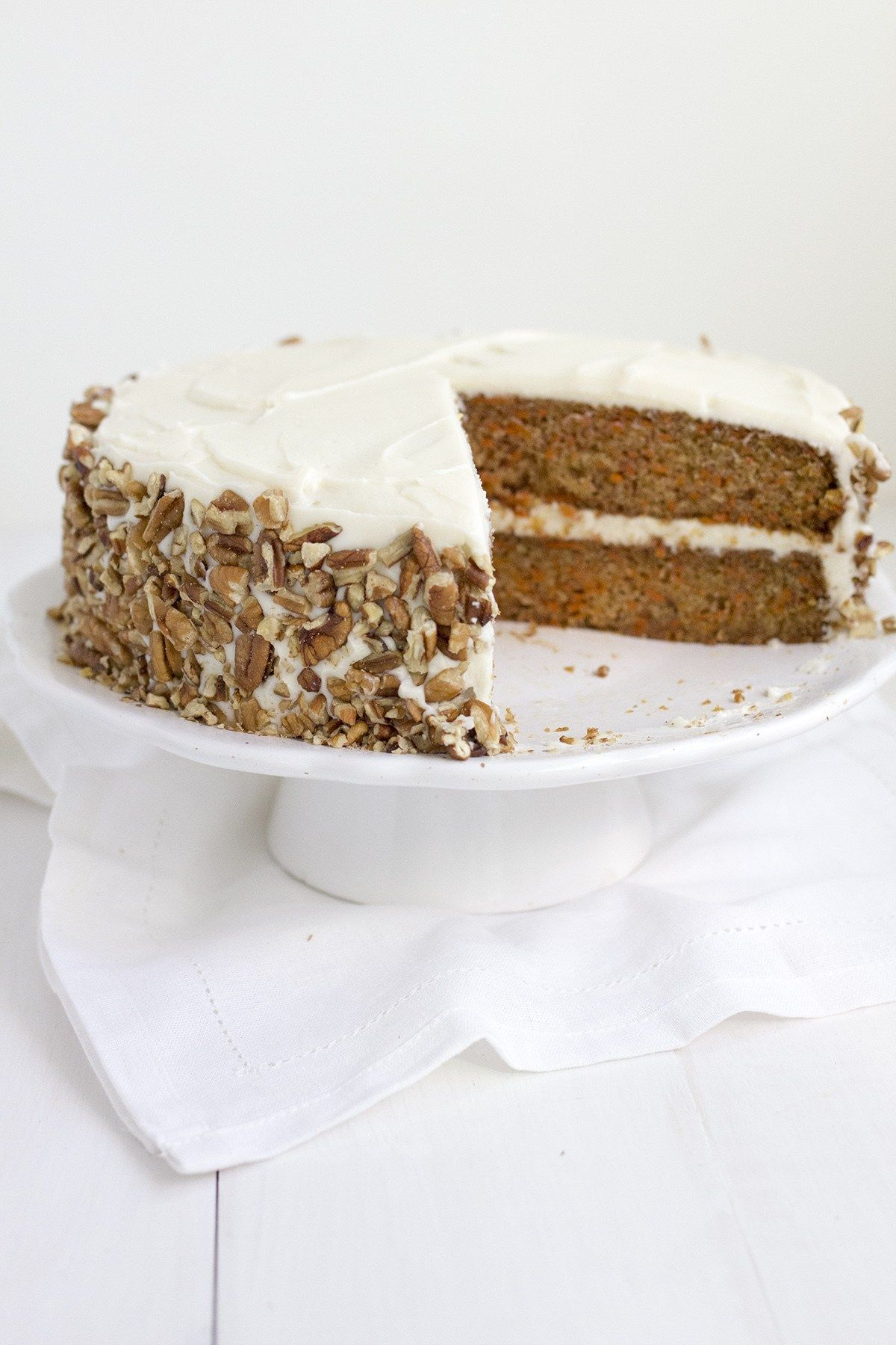 Popular Carrot Cake I Made For School Luncheon Replaced Oil With
