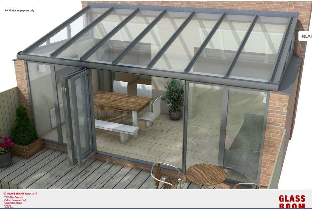 Looking at getting a glass room conservatory wintergarden for Glass rooms conservatories