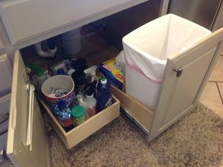 Convert Any Existing Cabinet Into A Pull Out Trash And Or