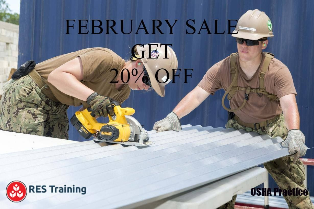 Get 20 OFF on all Courses Only on OSHA Practice. http