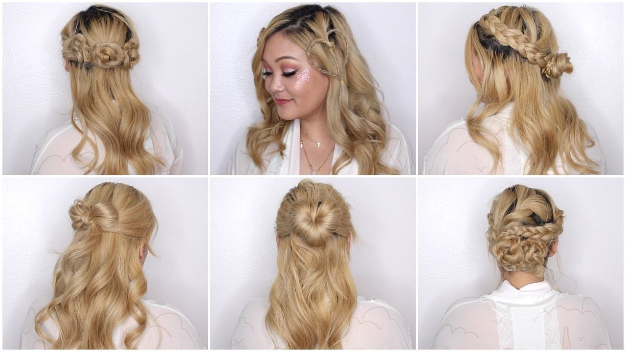 Easy Valentine S Day Hairstyles Youtube Hair Styles Picture Day Hair Easy Hairstyles