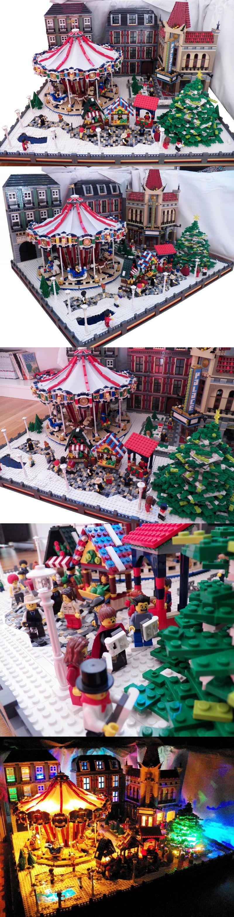 Deco Noel ChristmasLego Merry NoëlEt Village Winter uT15KlFcJ3